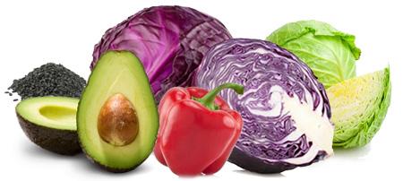 Azijska duga salata - Kuhinja antioksidans. 'Duga' u nazivu salate nije asocijacija na dužinu već na dugine boje što predstavlja bogatstvo antioksidanasa.