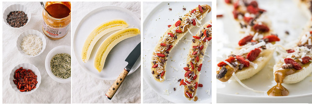 Banana brod - kuhinja AX - U moru zdravlja plovi jedan brod. Evo jednog dobrog recepta za sve obožavaoce banana, čokolade, goji bobica i kokosa.