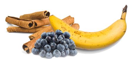 Borovnica banana smuti - Kuhinja antioksidans. Borovnica i cimet pomoći će funkciju mozga i antitumor delovanje a banana će pomoći snabdevanje vlaknima.