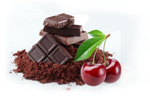 Čoko šeri smuti - Kuhinja Antioksidans - Kakao i trešnja pokloniće vam, pored dobrog ukusa, čašu prepuna vitamina i antioksidanasa. Kuhinja AX.