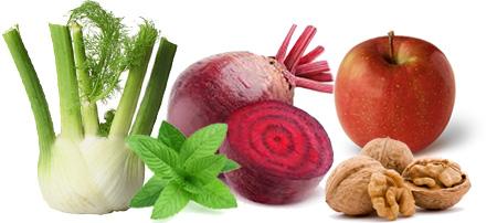 Jabuka cvekla salata - Kuhinja antioksidans - mešavina voća i povrća i nekoliko orašastih plodova daće neobičan ukus ovoj salati i puno dobrih nutrijenata.