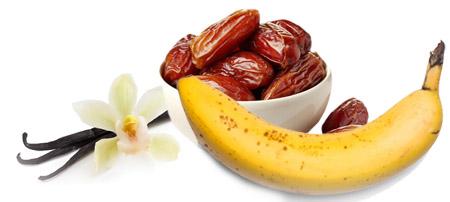 Vanila urma smuti - Kuhinja antioksidans. Jedan energetski smuti za sportiste (bildere) sa kombinaciojm banane i urme uz dodatnu aromu vanile za bolji ukus.