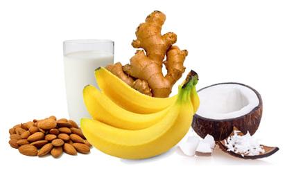 Djumbir banana kokos sladoled - Kuhinja Antioksidans. Banana, đumbir i kokos učiniće da sladoled postane i hrana i lek, nešto što čak koristi našem zdravlju