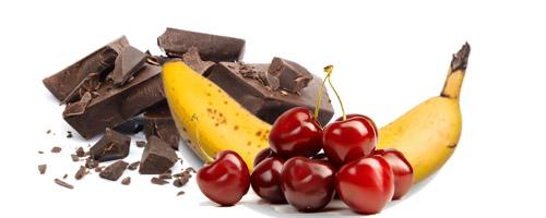 Banana trešnja čoko sladoled - Kuhinja Antioksidans. Voćno čokoladna verzija vegan sladoleda. Kalorija ima ali su ipak bolje od onih industrijskih.