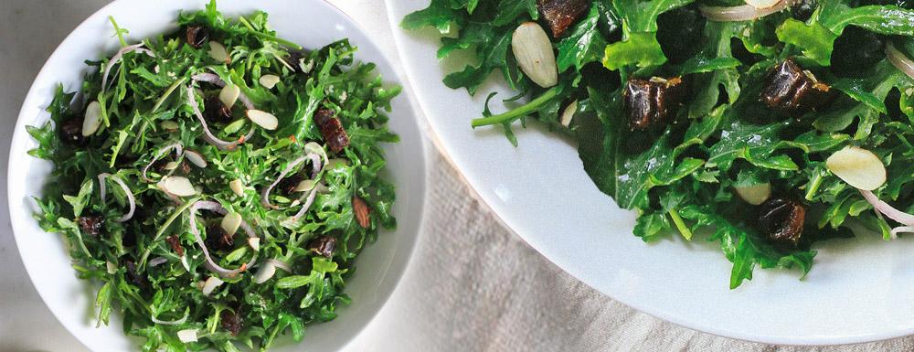 Kelj-urma-badem salata