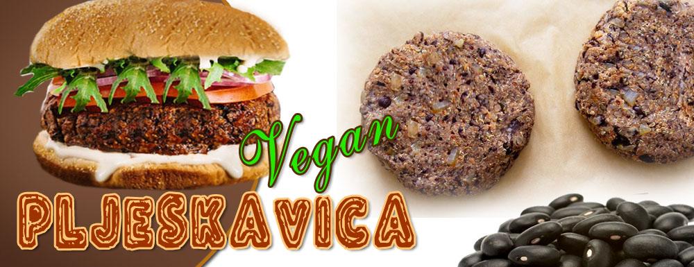Vegan pljeskavica – Vegan fast food