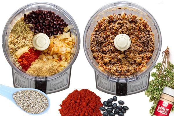 Vegan pljeskavica - Vegan fast food - Kuhinja antioksidans. Najčešća asocijacija kod Fast food hrane jeste nezdravi efekat, što ovde nije slučaj.