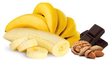 Badem banana sladoled - Kuhinja Antioksidans. Kombinacija energije, vitamina i dobrih ukusa. Sladoled od banane sa čokoladom i bademom uvek garantuje uspeh.