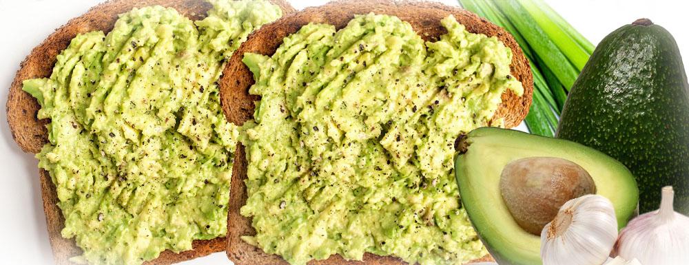 Vegan avokado tost