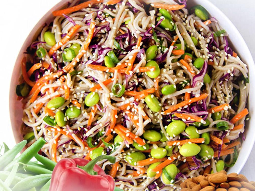 Azijska salata sa susamom