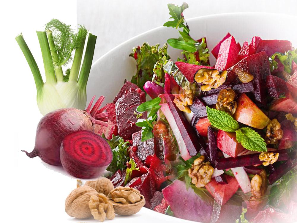 Jabuka cvekla salata