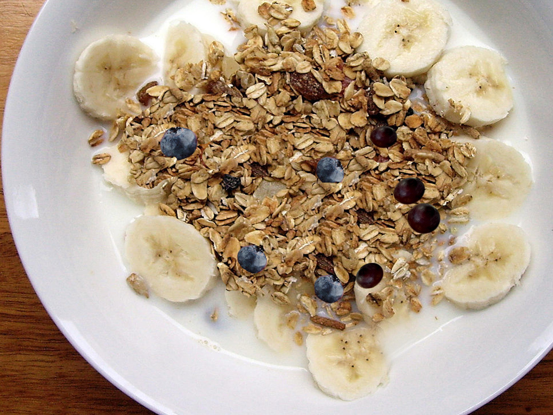 Rolovani ovas doručak