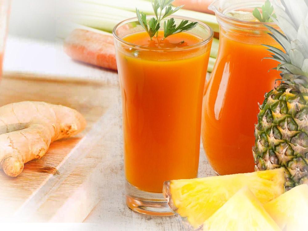 Šargarepa ananas đumbir sok