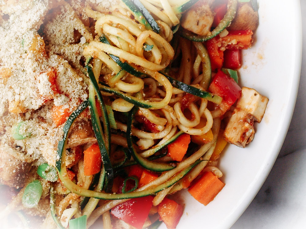 Sirova vegan pasta