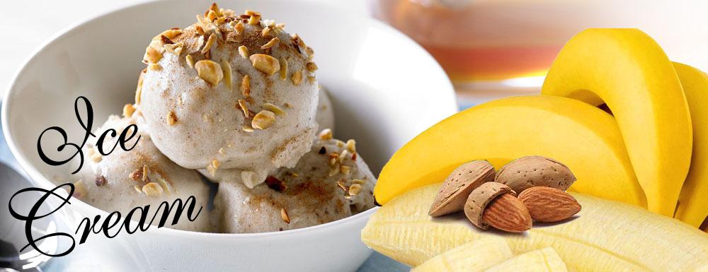 Badem banana sladoled